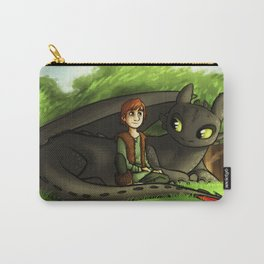 hiccup n' toothless Carry-All Pouch