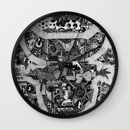 El Toro by Celteca Wall Clock