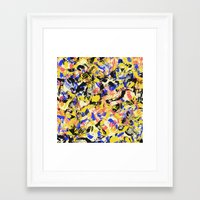 fight Framed Art Prints featuring Fight by Larionov Aleksey
