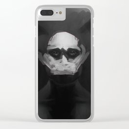 Fractured Hannibal Clear iPhone Case