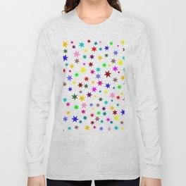 Colorful stars Long Sleeve T-shirt