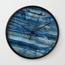 Ocean Depths Blue Marble Wall Clock