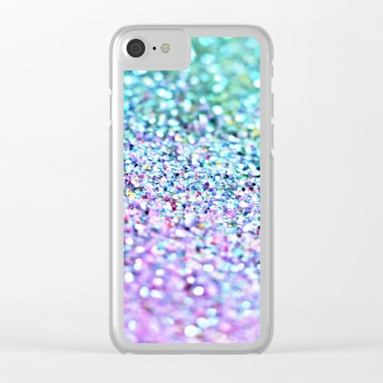 LITTLE MERMAID Clear iPhone Case