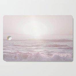 SUNSET HALFMOON BAY by MS Cutting Board