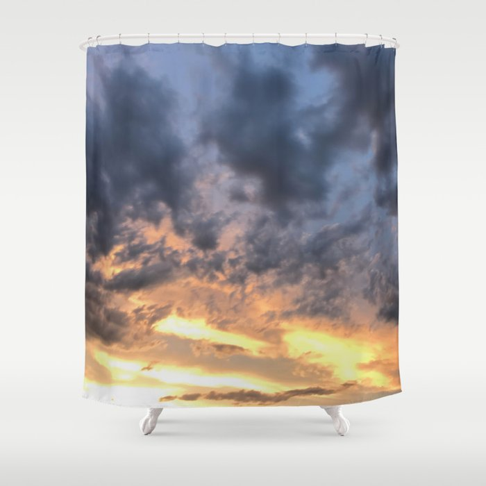 Collision Shower Curtain