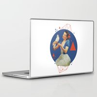 dorothy Laptop & iPad Skins featuring Dorothy by Cut and Paste Lady