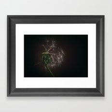 The Last Bits Framed Art Print