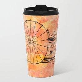 I Am One In A Billion Rising  (bellydancer with umbrella) Travel Mug