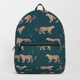 Rose Leopard Backpack
