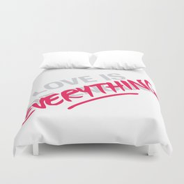 Love is... Duvet Cover