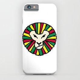 Lion Rastafari iPhone Case