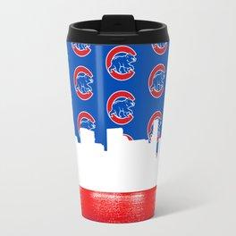 Cubs Skyline Travel Mug