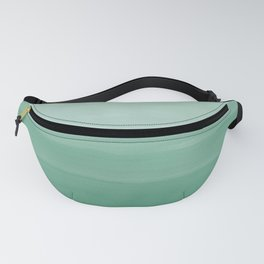 Touching Green Watercolor Abstract #1 #painting #decor #art #society6 Fanny Pack