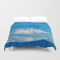 paradise Duvet Covers featuring Paradise by RDelean