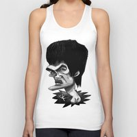 bruce springsteen Tank Tops featuring Bruce by Hanif