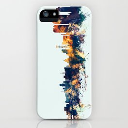 Calcutta Kolkata India Skyline iPhone Case