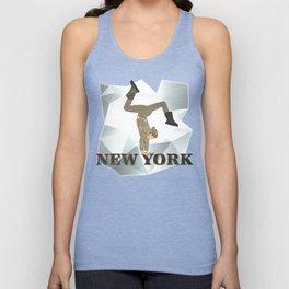 Gymnastics New York Unisex Tank Top