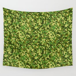 Flecktarn Jungle Camo Wall Tapestry