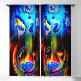 Our World Is A Magic - Is A Diamond Blackout Curtain