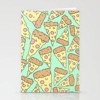 pizza Stationery Cards featuring Pizza by Evan Smith