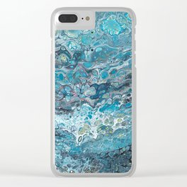 Backroll Entry Clear iPhone Case