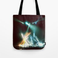 the xx Tote Bags featuring XX by Tanya Bhargava