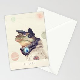 Star Team - Slippy Stationery Cards