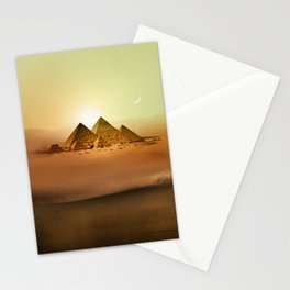 Station Pyramid Day Stationery Cards