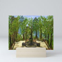 Rittenhouse Square in the Spring Mini Art Print