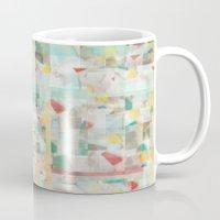 mosaic Mugs featuring Mosaic by Jacqueline Maldonado