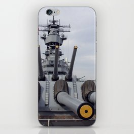 USS Iowa iPhone Skin