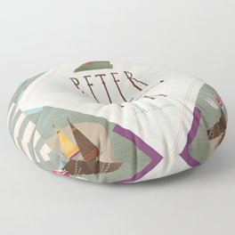 Peter Pan Floor Pillow