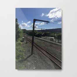 Railway Power Metal Print