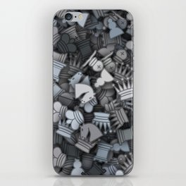 Chess camouflage iPhone Skin