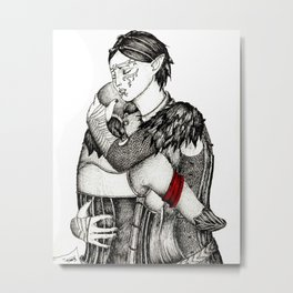 Letter from Varric Metal Print