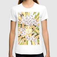 roses T-shirts featuring Roses by Saundra Myles