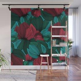 Big Flowers Wall Mural