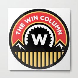 The Win Column Metal Print