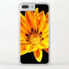 Floral Beauty in Close Up Clear iPhone Case