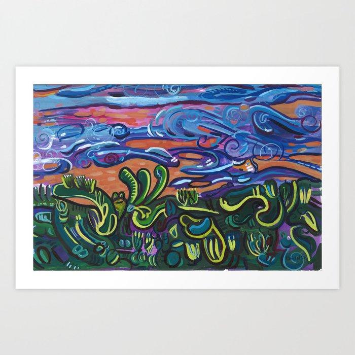 A Landscape Art Print