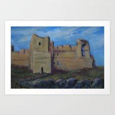 Highland Castle AC151207u Art Print