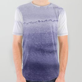 WITHIN THE TIDES ICELAND LUPINS by Monika Strigel All Over Graphic Tee