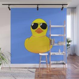 Cool Rubber Duck Wall Mural