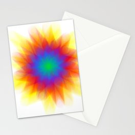 Rainburst Stationery Cards