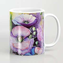 Field poppies, watercolor Coffee Mug