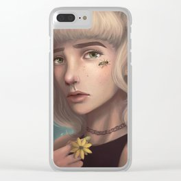 Honey and the Bee Clear iPhone Case