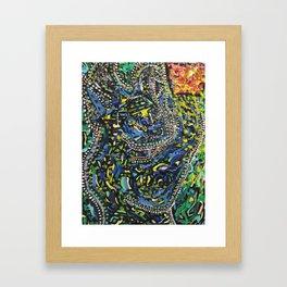 Freyr Framed Art Print