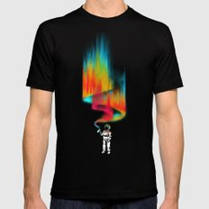 Space vandal MEDIUM Black Mens Fitted Tee