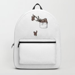 Pocket Sloth Family Backpack