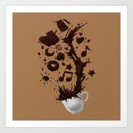 Need more Coffee Art Print